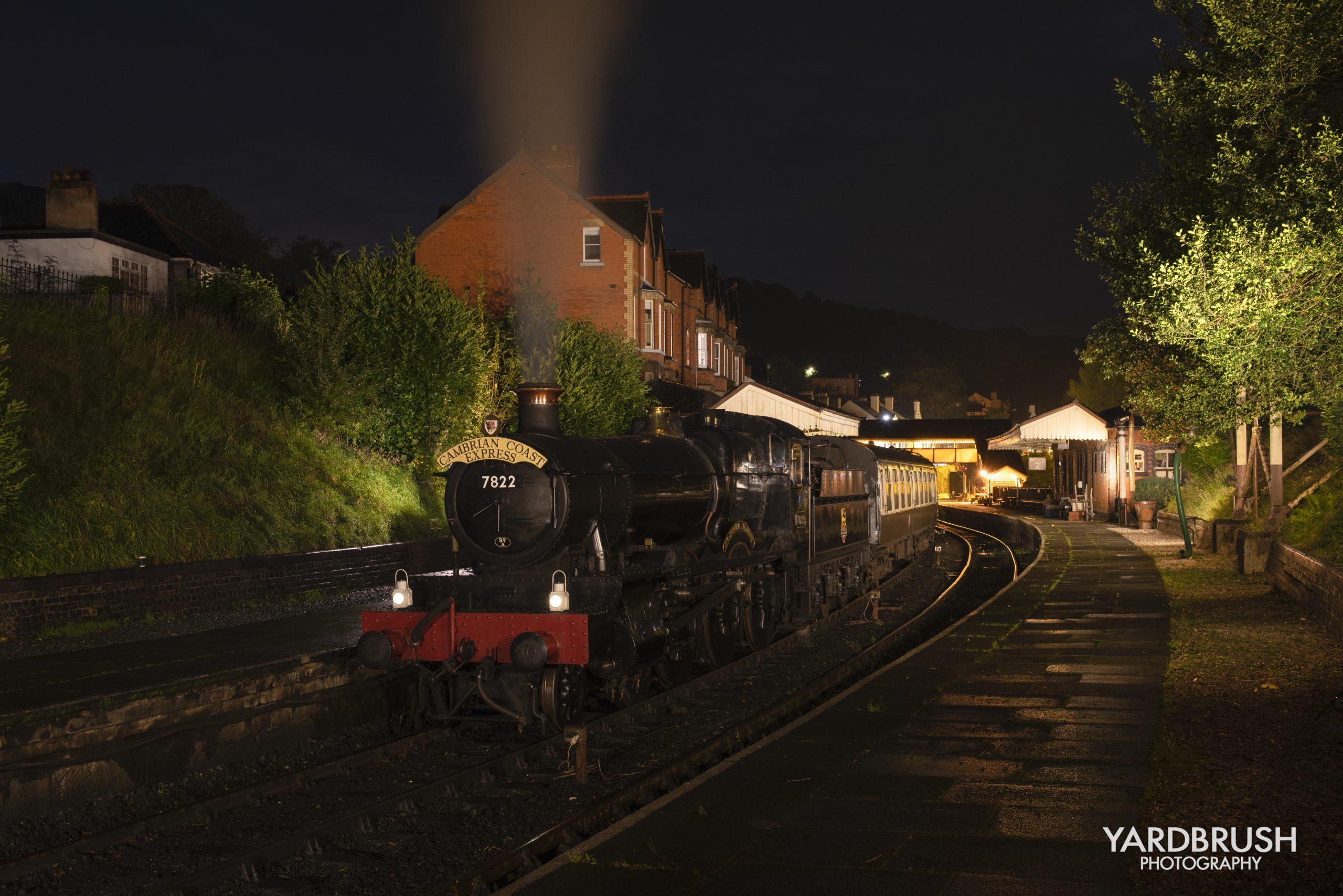 7822 Foxcote Manor at the Llangollen Railway