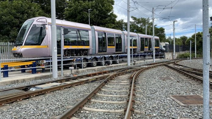 Alstom delivers new tramways for Dublin
