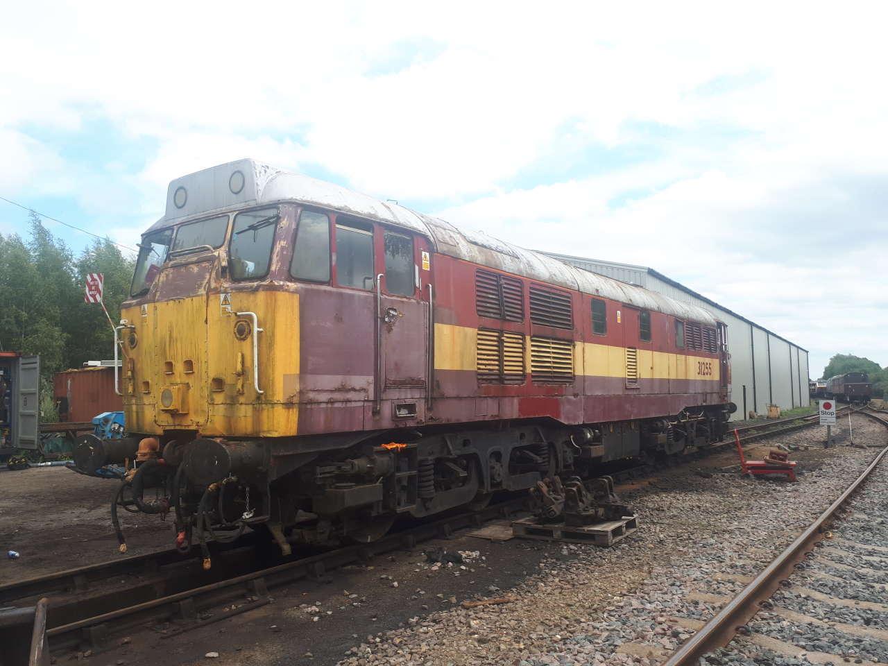 Class 31 31255 at Dereham