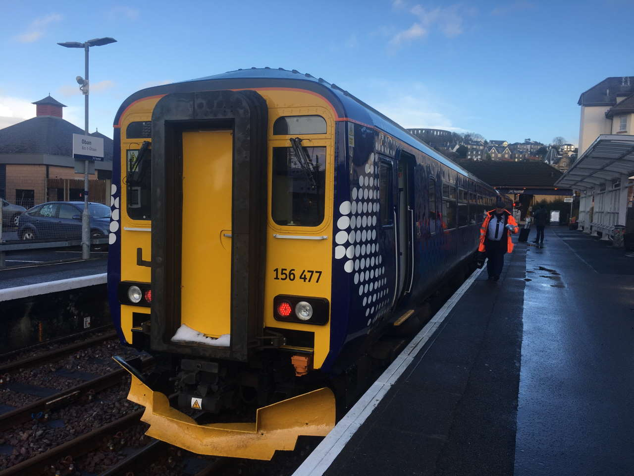 ScotRail Class 156 at Oban