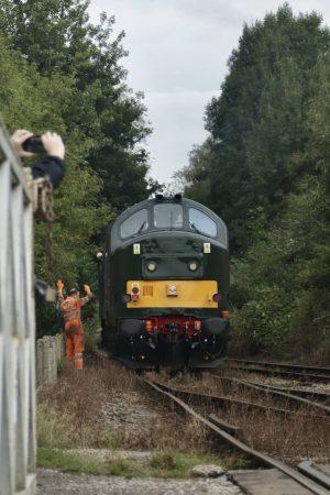 Class 37 37667 at Barrow Hill