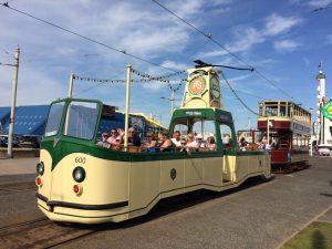 Blackpool Heritage Trams announce coronavirus safe return
