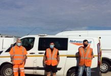 Network Rail volunteers deliver final PPE from distribution centre prior to closure