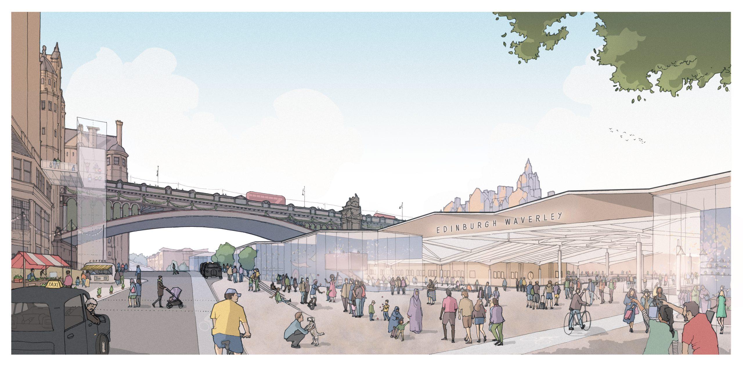 Waverley Masterplan revealed by Network Rail