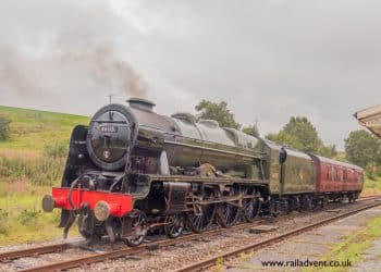 46115 Scots Guardsman at Hellifield