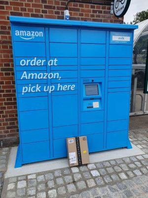 Amazon Locker at railway stations thanks to partnership