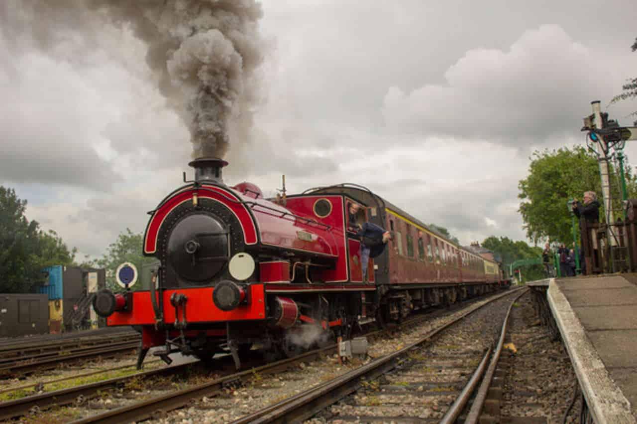 steam hauled