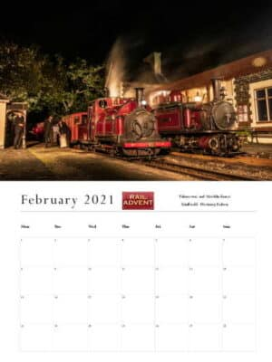 RailAdvent Calendar February 2021