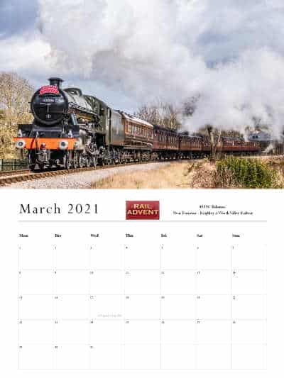 RailAdvent Calendar March 2021