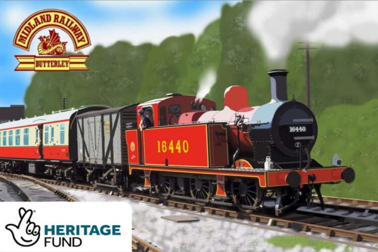 Midland Railway Butterley awarded Heritage Lottery grant
