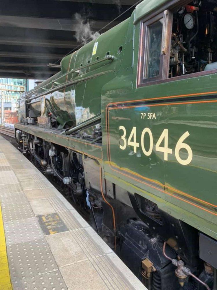 34046 Braunton at London Paddington