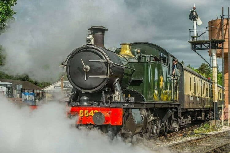 5542 set to visit the East Somerset Railway