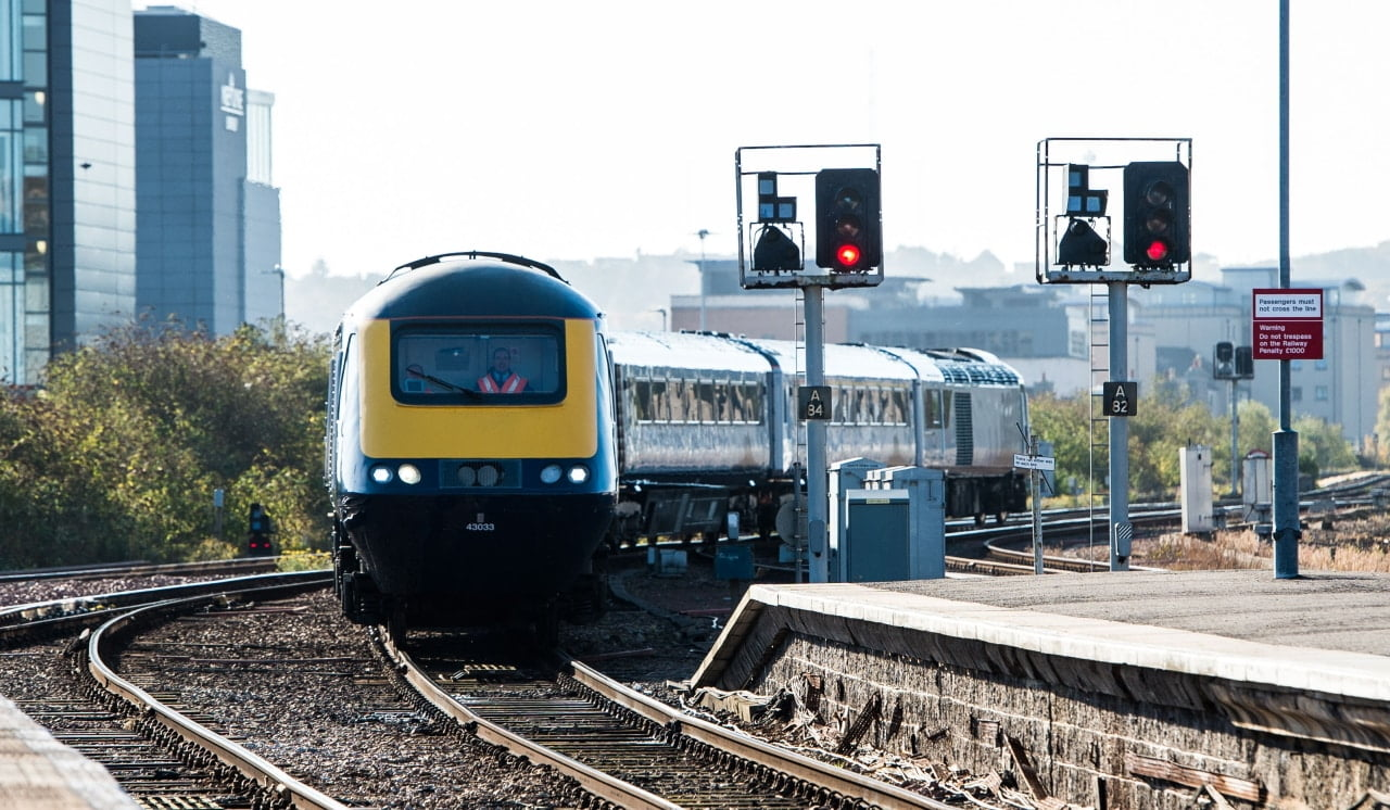 ScotRail HST in operation between Aberdeen and Glasgow
