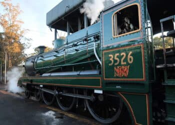 3526 Ready for Test Run // Credit NSW Rail Museum