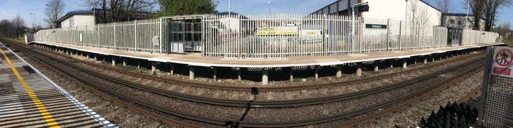 Aldrington railway station