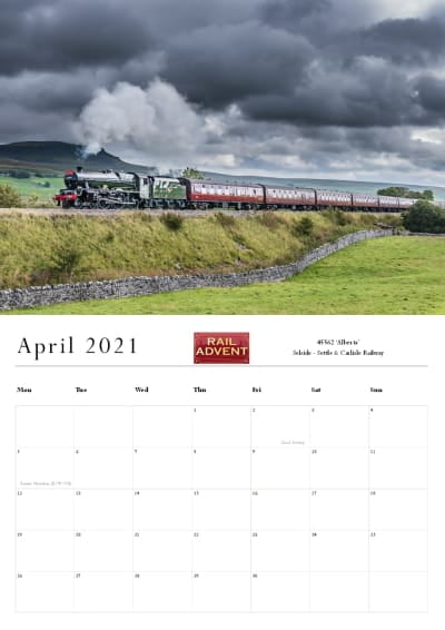 RailAdvent Calendar April 2021