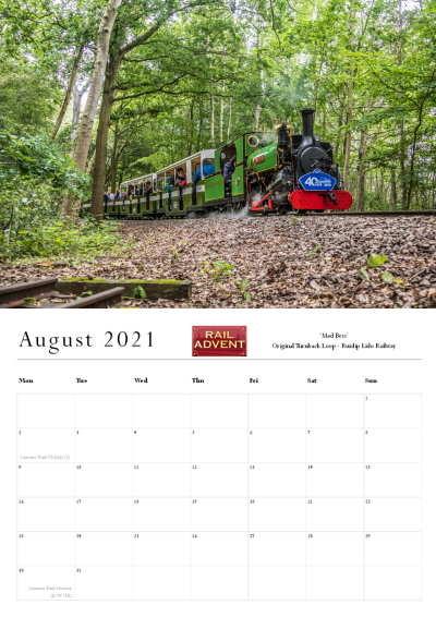 RailAdvent Calendar August 2021