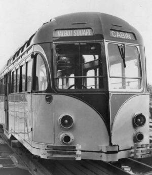 Blackpool 298 tram