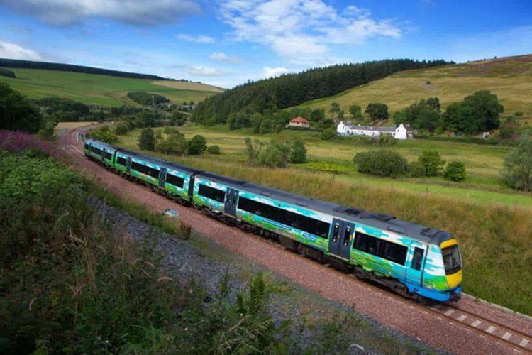 Borders Railway landscape