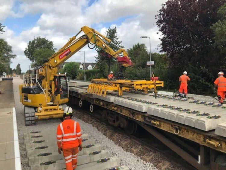Cantley Rail Upgrade Work