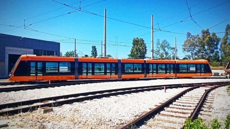 Alstom Citadis X05 Tram Athens Greece
