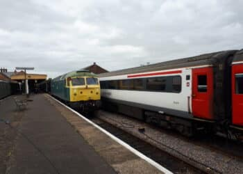 Class 47 at the Mid Norfolk Railway