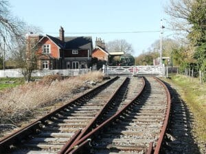 County School station on the Mid Norfolk Railway