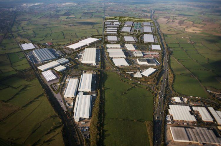 Daventry International Rail Freight Teminal