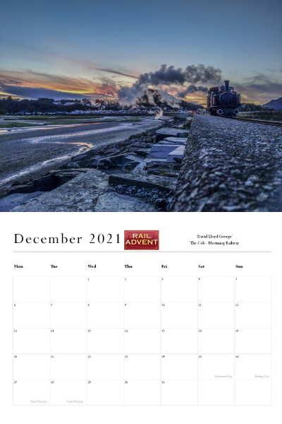 RailAdvent Calendar December 2021