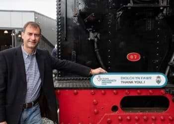Ffestiniog & Welsh Highland Railway General Manager Paul Lewin
