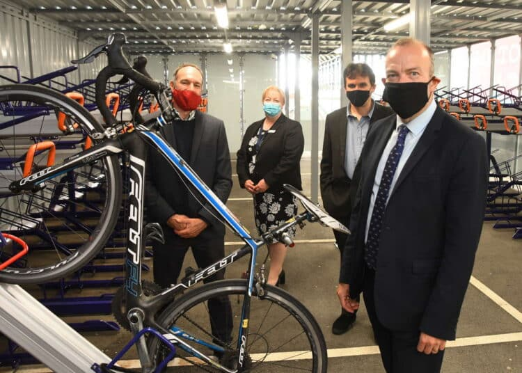 New cycle hub opens in Hull