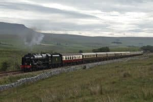 46100 Royal Scot on the Settle to Carlisle line