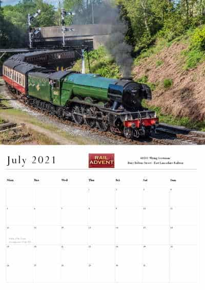 RailAdvent Calendar July 2021