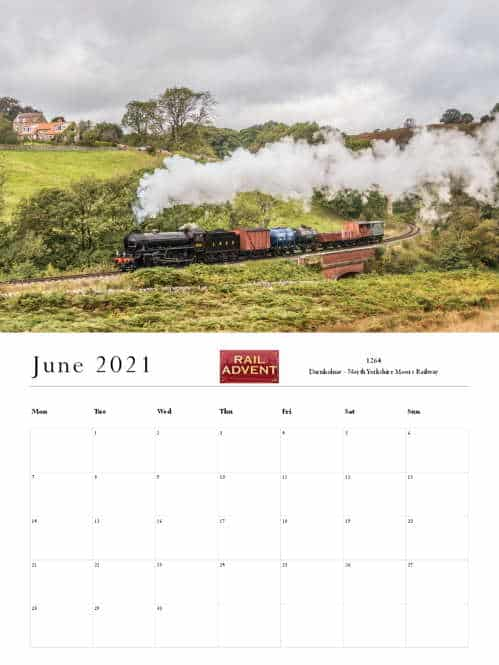 RailAdvent Calendar June 2021