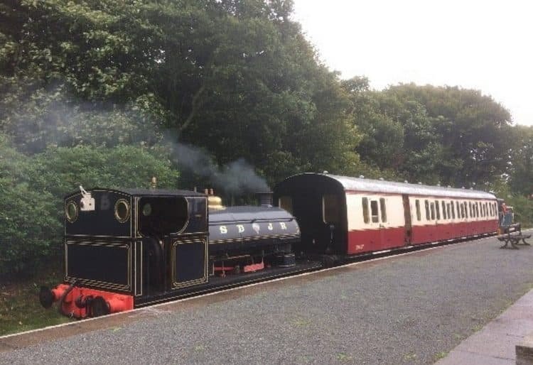Kilmersdon at the Helston Railway