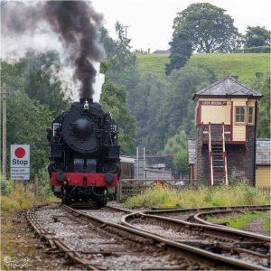 S160 on the Churnet Valley Railway