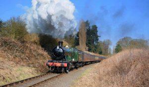 Locomotive No 2857 as seen in Enola Holmes