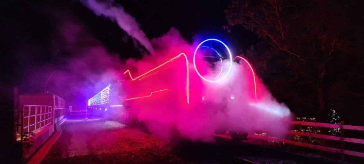 Mid Hants Railway Steam Illuminations