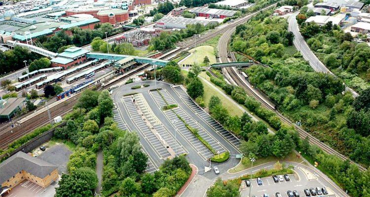 Meadowhall Interchange car park
