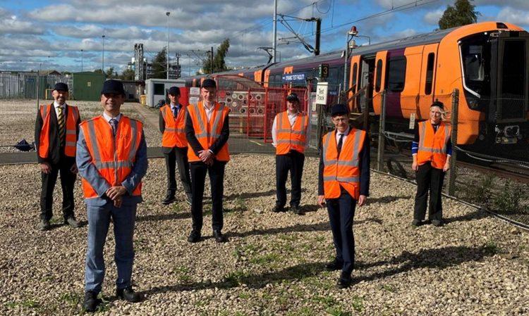 New electric train West Midlands Railway