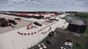 New rail freight terminal at Daventry