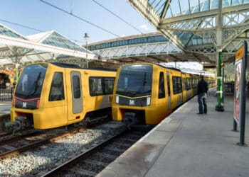 Nexus Colour Scheme Tyne and Wear Metro