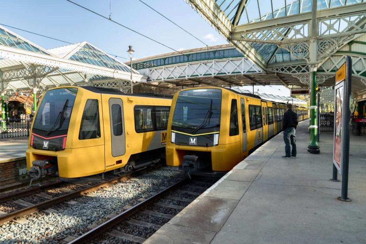 Nexus Colour Scheme Tyne and Wear Metro