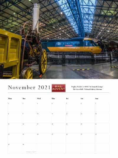 RailAdvent Calendar November 2021