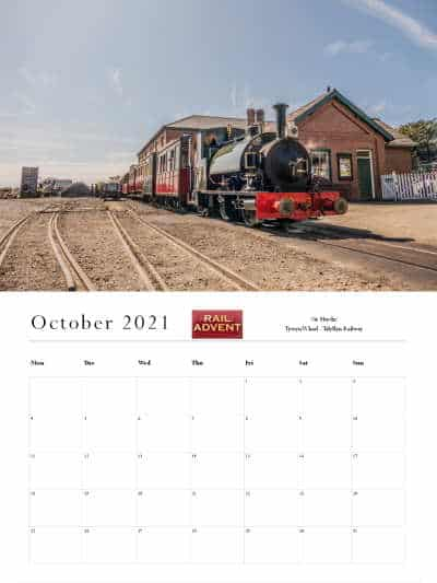 RailAdvent Calendar October 2021