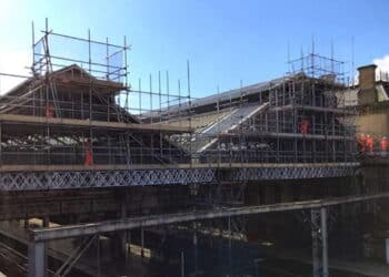 Preston station gable end upgrade