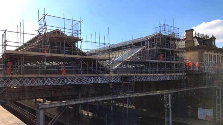 Preston station gable end upgrade