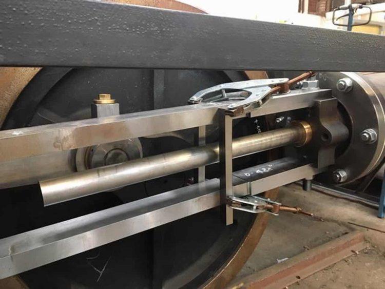 Right hand piston rod for Falcon No. 10 Corris Railway
