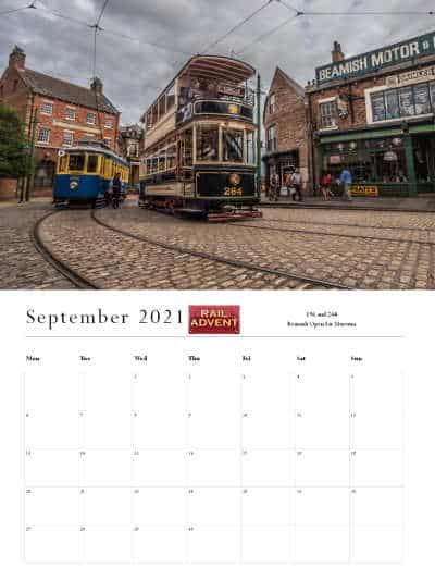 RailAdvent Calendar September 2021