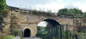 Skerne Bridge before improvement work, photo credit A1 Steam Locomotive Trust